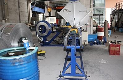 螺旋风管生产线