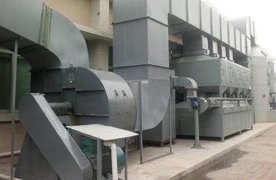 废气除尘管道工程